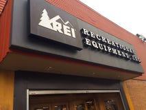 REI Storefront Eugene ODER lizenzfreies stockbild