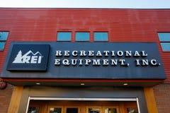 REI Storefront Eugene Oregon Royalty Free Stock Photo