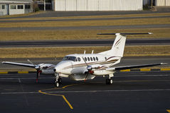 Rei super Ar B 200 de Beechcraft Fotografia de Stock