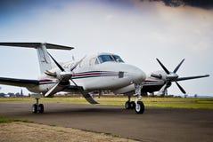 Rei super Ar B200 de Beechcraft Imagem de Stock