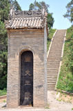 Rei Wen de Zhou Mausoleum fotografia de stock
