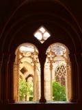 Reial Monestir de Santa Maria de Santes Creus, Aiguamurcia (Cataluña) Foto de archivo