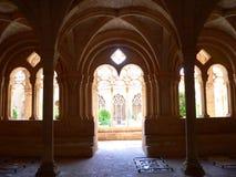Reial Monestir de Santa Maria de Santes Creus, Aiguamurcia (España) Imágenes de archivo libres de regalías