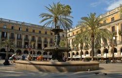 reial plaza Arkivfoto