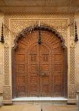 Reich ausführliche Türen Stockbild