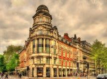 Reich-Haus in London Stockbilder