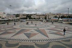 Reich-Quadrat, Belem, Lissabon Stockbild