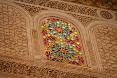 Reich verziertes marokkanisches Gebäude Lizenzfreie Stockfotografie