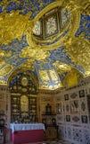 Reiche Kapelle богато украшенный Часовн-Мюнхен Резиденци-Германия стоковые изображения