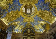 Reiche Kapelle Cappella-Monaco di Baviera decorata Residenza-Germania Fotografia Stock