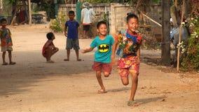 Reiche Kinder glücklich Stockfotos
