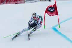 REICHELT Hannes (AUT). Alta Badia, ITALY 22 December 2013. REICHELT Hannes (AUT) competing in the Audi FIS Alpine Skiing World Cup MEN'S GIANT SLALOM Stock Photos