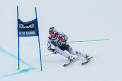 REICHELT Hannes (AUT). Alta Badia, ITALY 22 December 2013. REICHELT Hannes (AUT) competing in the Audi FIS Alpine Skiing World Cup MEN'S GIANT SLALOM Stock Photography
