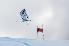 REICHELT Hannes (AUT). VAL GARDENA, ITALY - DECEMBER 21:  REICHELT Hannes (AUT) races down the Saslong competing in the Audi FIS Alpine Skiing World Cup MEN'S Stock Image