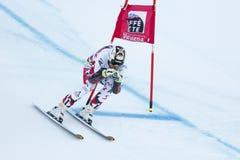 REICHELT Hannes in FIS Alpien Ski World Cup - super-g van 3de MENSEN Stock Afbeeldingen