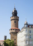 Reichenbacher Tower in Goerlitz Royalty Free Stock Image