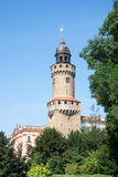 Reichenbacher Tower in Goerlitz Stock Images