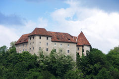 Reichenburg castle Royalty Free Stock Photos