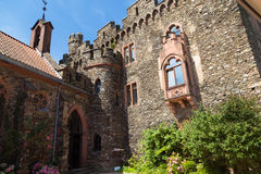 Reichenstein Castle,  Germany  -  courtyard Stock Images