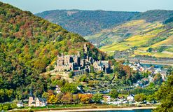 Free Reichenstein Castle In The Rhine Gorge, Germany Royalty Free Stock Image - 134411186