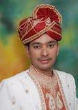 Reicher indischer Prinz Lizenzfreies Stockfoto