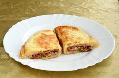 Reichliches Sandwich  Lizenzfreie Stockfotos