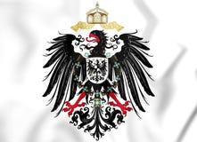 Reichsadler 1888-1918 d'empire allemand illustration de vecteur
