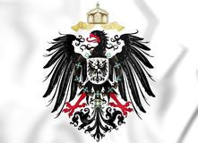 Reichsadler 1888-1918 of German Empire. 3D Illustration vector illustration
