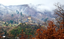 Reichsburg castle in Cochem, Germany Stock Images