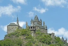 Reichsburg Cochem Castle, Germany. Royalty Free Stock Photos