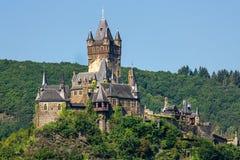 Reichsburg Cochem. Cochem, Germany. Stock Photo