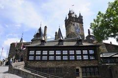 Reichsburg dans Cochem, Allemagne Photos stock