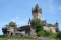 Reichsburg slott Cochem Royaltyfri Fotografi