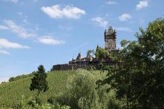 Reichsburg slott Cochem Royaltyfria Bilder