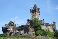 Reichsburgkasteel Cochem Royalty-vrije Stock Fotografie