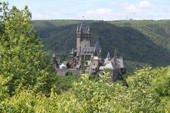 Reichsburgkasteel Cochem stock foto