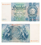 Reichsmark Stock Photo