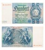Reichsmark Stockfoto
