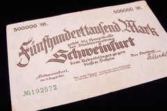 Reichsmark Stock Photo