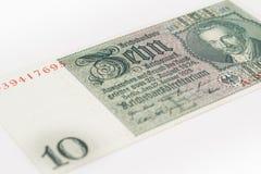 Reichsmark tio Arkivfoton