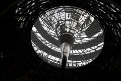 Reichstag圆顶,柏林 库存照片