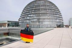 Reichstag圆顶 库存图片