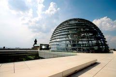 Reichstag圆顶 免版税库存图片