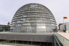 Reichstag圆顶 免版税库存照片