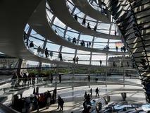 Reichstag圆顶 库存照片