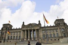 Reichstag在柏林德国 免版税库存照片