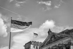 Reichstag大厦,德国议会的位子 库存图片