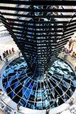 Reichstag大厦,德语 免版税库存图片