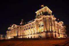 Reichstag柏林 免版税库存图片
