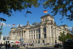 Reichstag柏林 库存照片